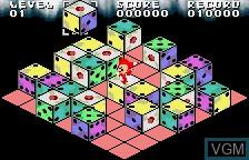 In-game screen of the game XI on Bandai WonderSwan