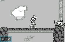 In-game screen of the game Buffers Evolution on Bandai WonderSwan