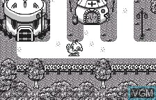 In-game screen of the game Chocobo no Fushigi na Dungeon for WonderSwan on Bandai WonderSwan