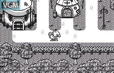 In-game screen of the game Chocobo no Fushigi na Dungeon on Bandai WonderSwan