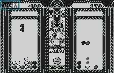 In-game screen of the game Puyo Puyo Tsu on Bandai WonderSwan