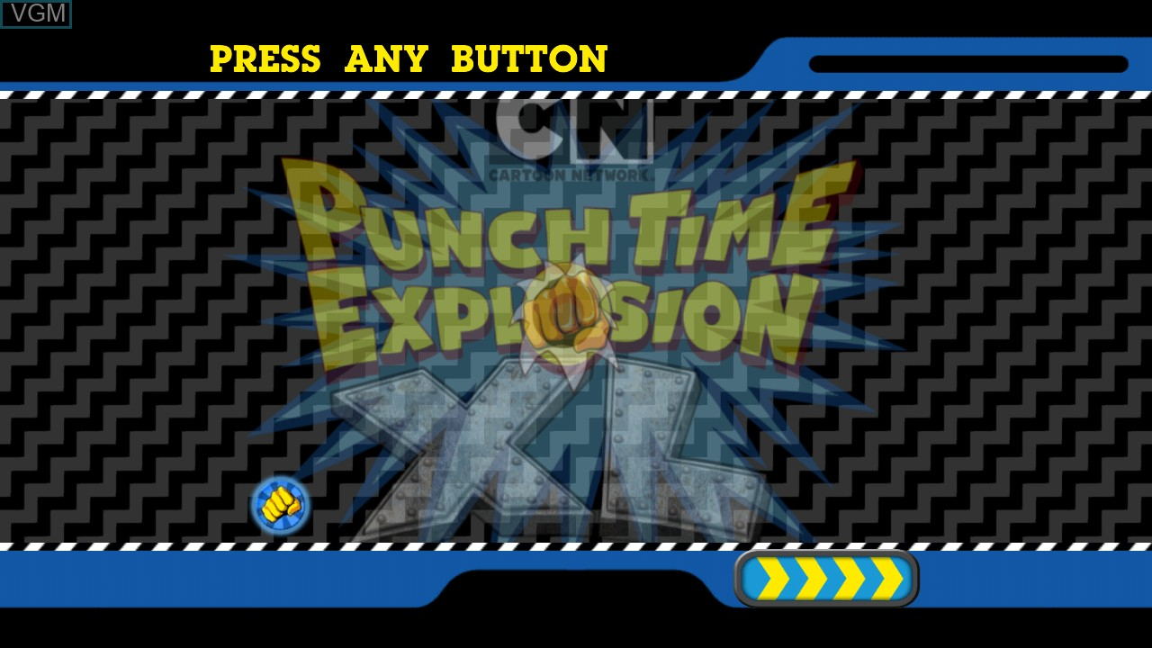 Cartoon Network Punch Time Explosion Xl For Microsoft Xbox 360