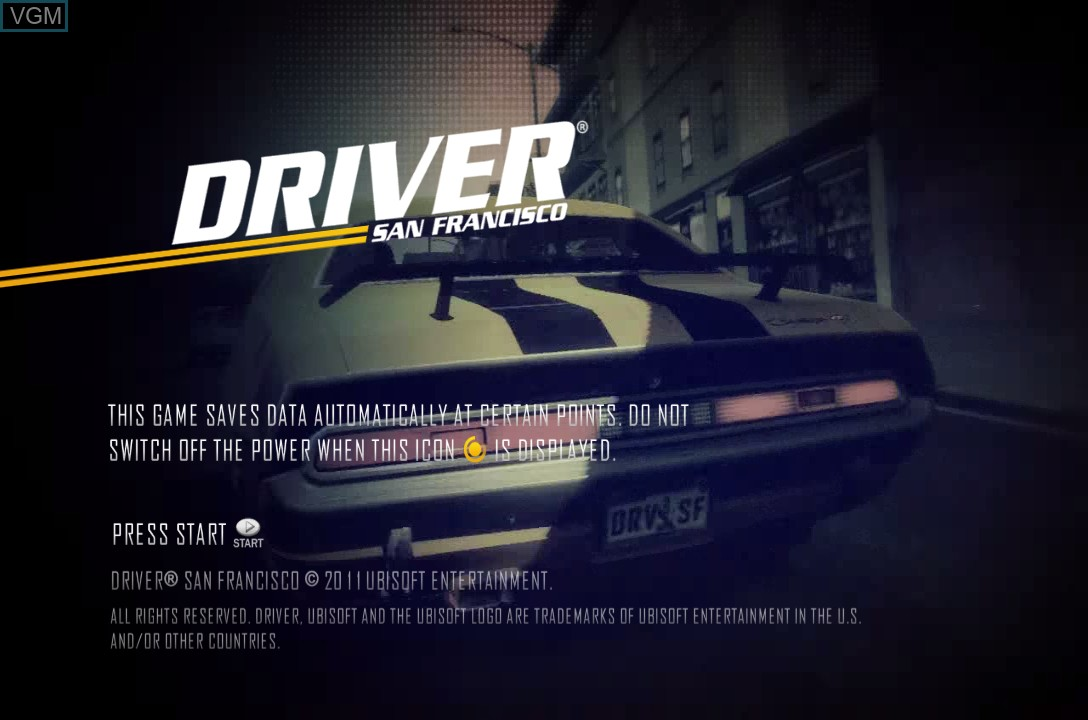 Driver San Francisco For Microsoft Xbox 360 The Video Games Museum