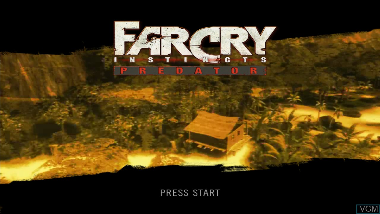 Far Cry Instincts Predator For Microsoft Xbox 360 The Video Games Museum