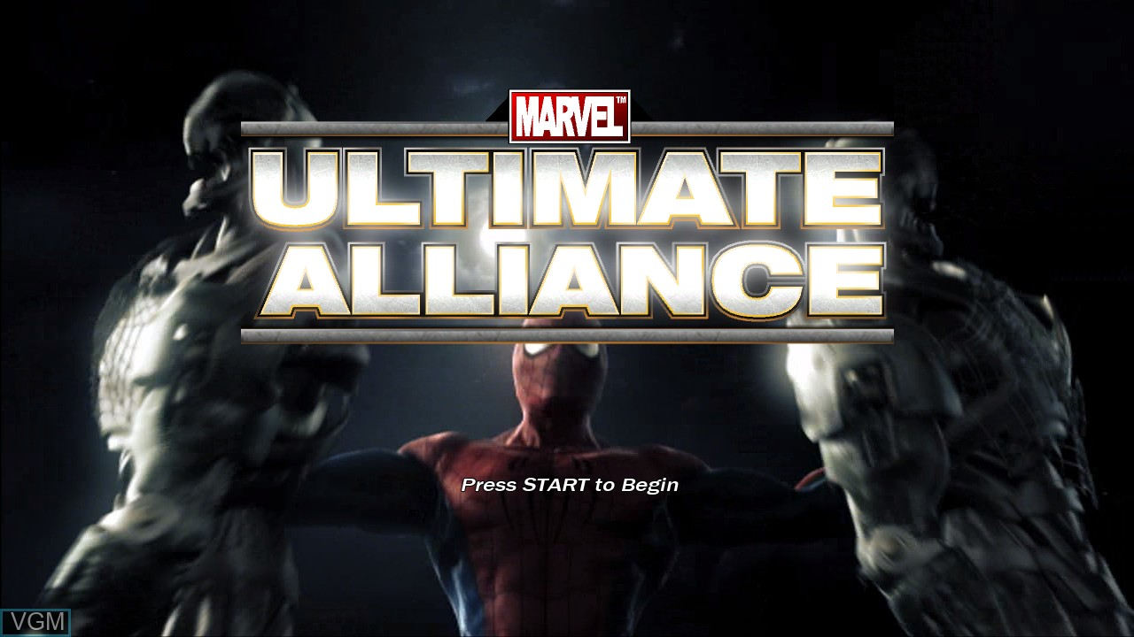 Marvel - Ultimate Alliance for Microsoft Xbox 360 - The Video Games