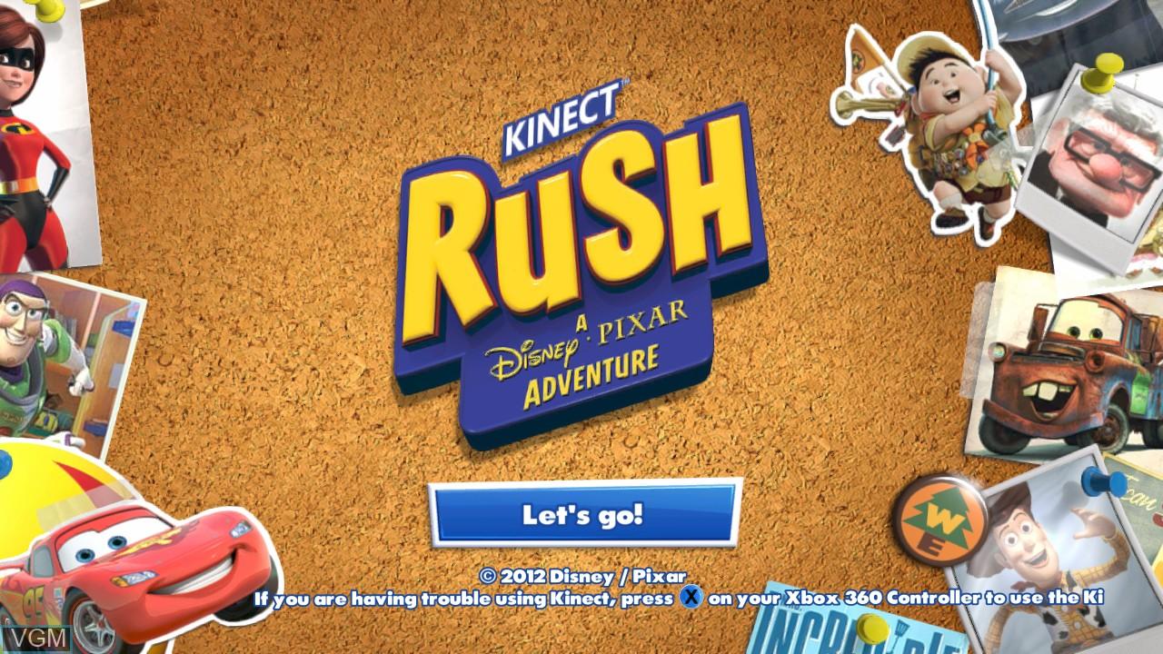 Kinect Rush - A Disney-Pixar Adventure for Microsoft Xbox