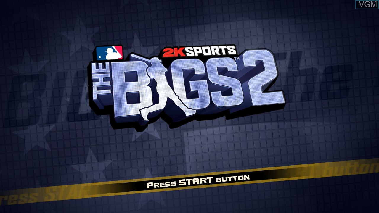 Title screen of the game Bigs 2, The on Microsoft Xbox 360