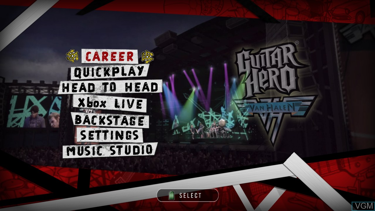 Guitar Hero Van Halen For Microsoft Xbox 360 The Video Games Museum