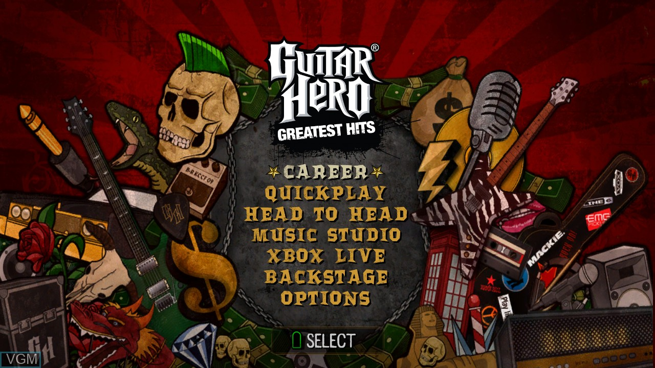 Guitar Hero - Smash Hits for Microsoft Xbox 360 - The Video
