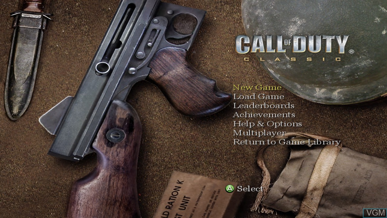 Call of Duty Classic for Microsoft Xbox 360 - The Video Games Museum