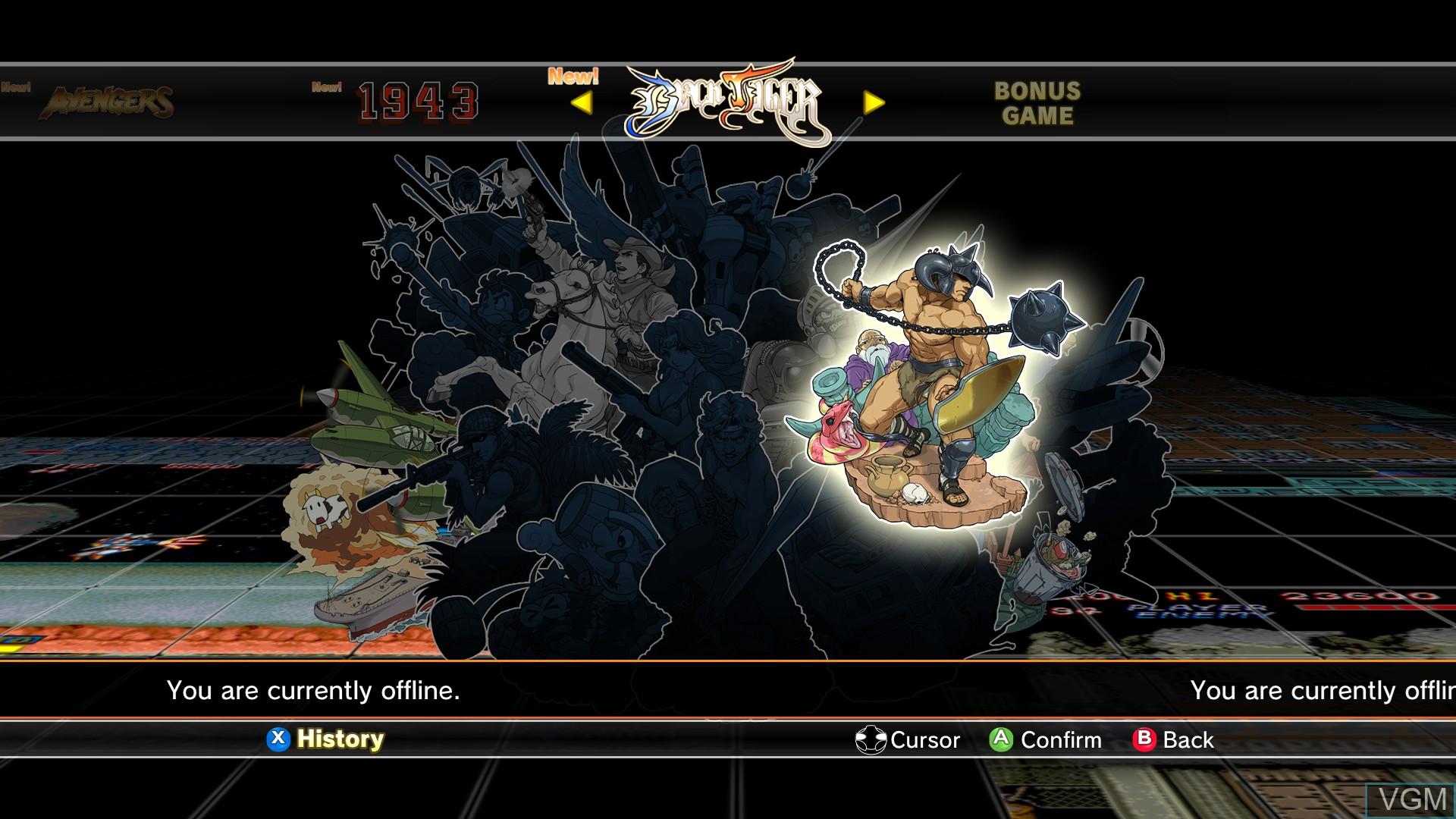 Capcom Arcade Cabinet For Microsoft Xbox 360 The Video