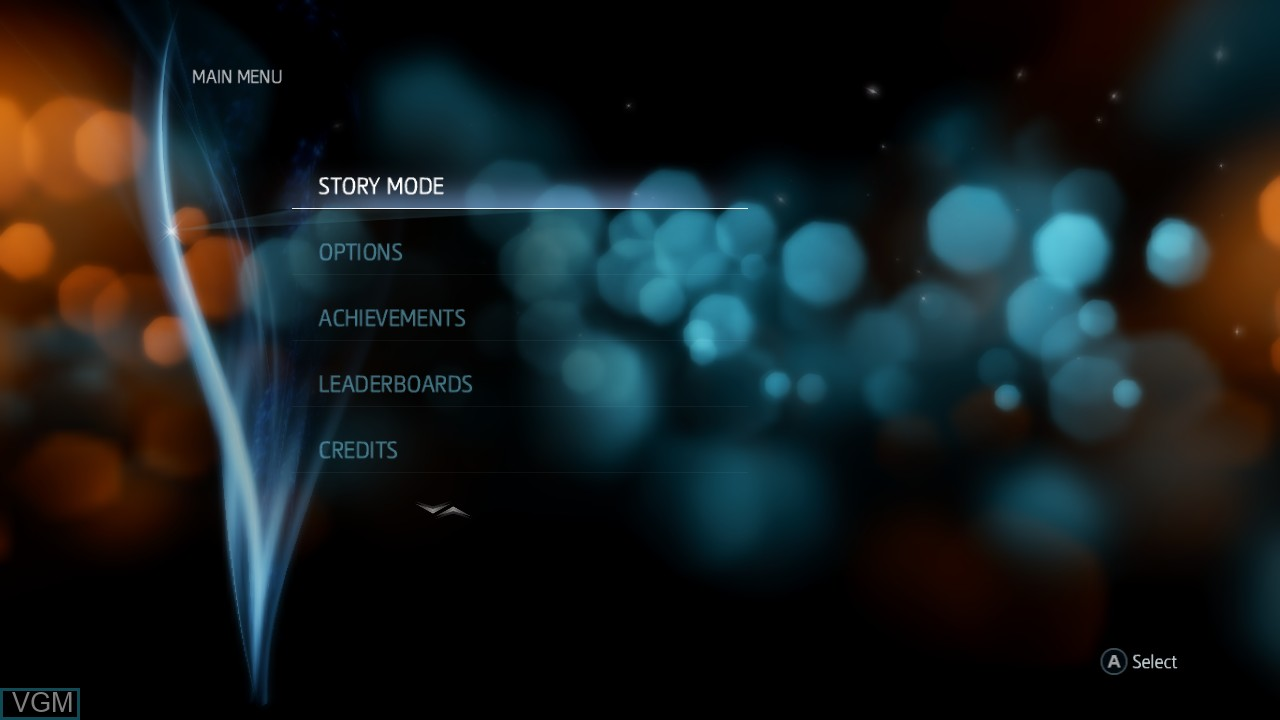 Menu screen of the game Assassin's Creed Liberation HD on Microsoft Xbox 360