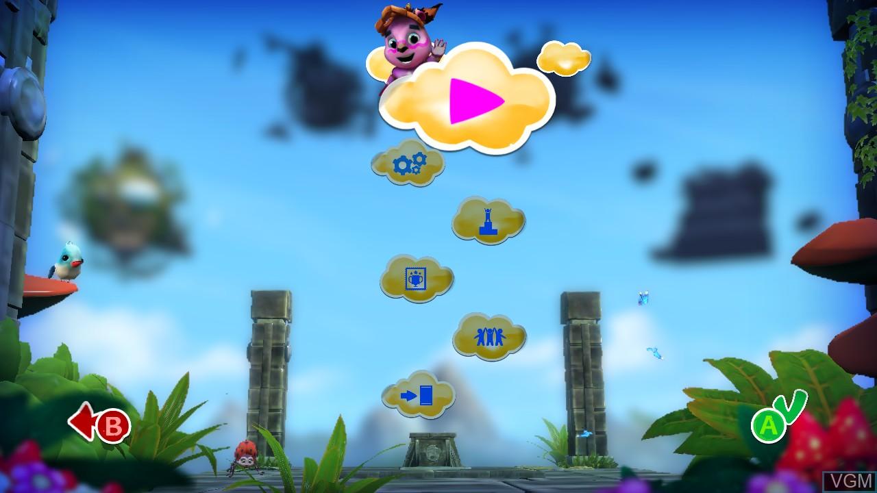 Menu screen of the game JUJU on Microsoft Xbox 360