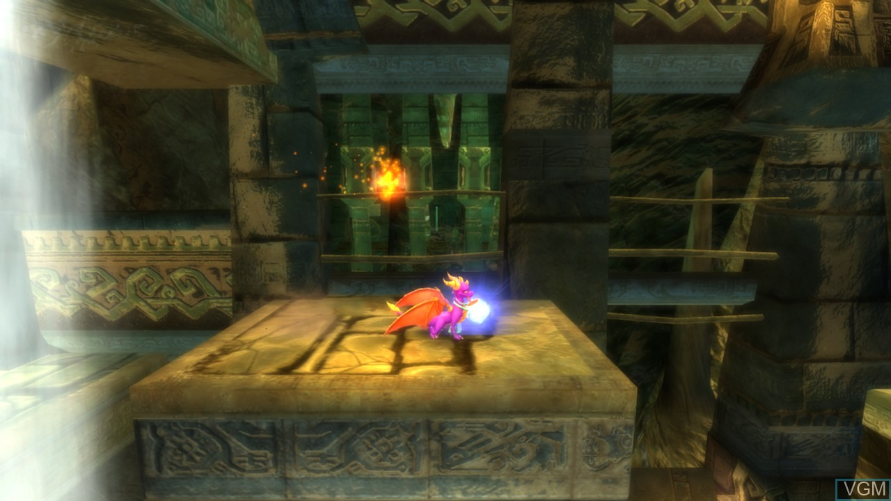 In-game screen of the game Legend of Spyro, The - Dawn of the Dragon on Microsoft Xbox 360