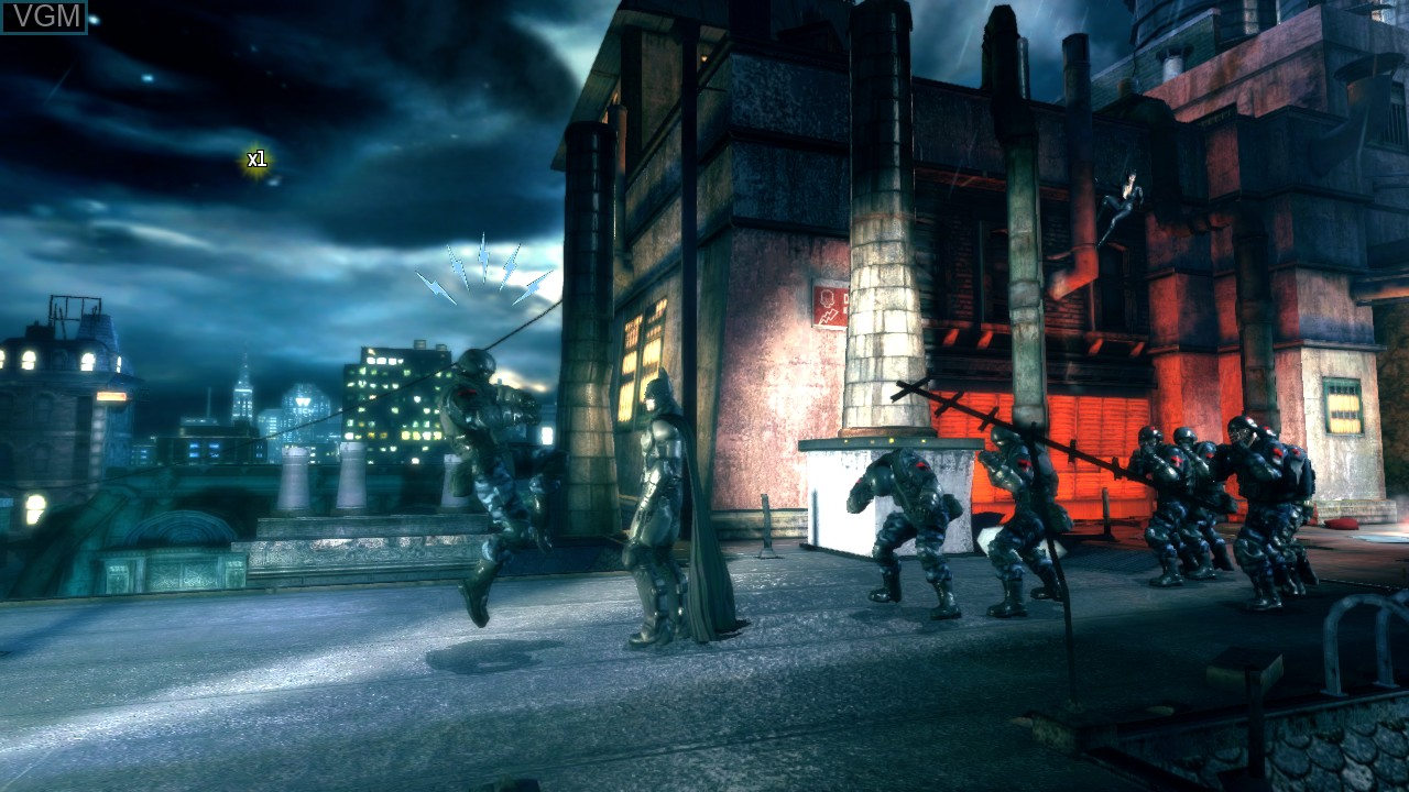 In-game screen of the game Batman - Arkham Origins Blackgate - Deluxe Edition on Microsoft Xbox 360