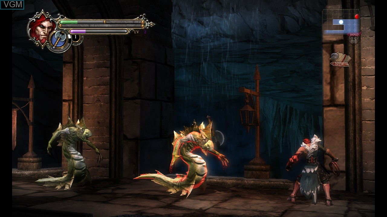 In-game screen of the game Castlevania - Lords of Shadow - Mirror of Fate HD on Microsoft Xbox 360