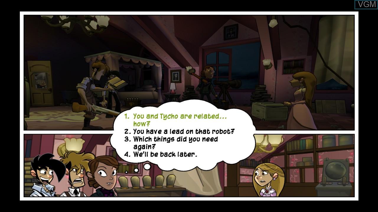 Penny Arcade Adventures - On the Rain-Slick Precipice of Darkness Episode Two