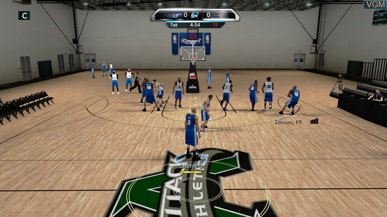 NBA 2K10 - Draft Combine