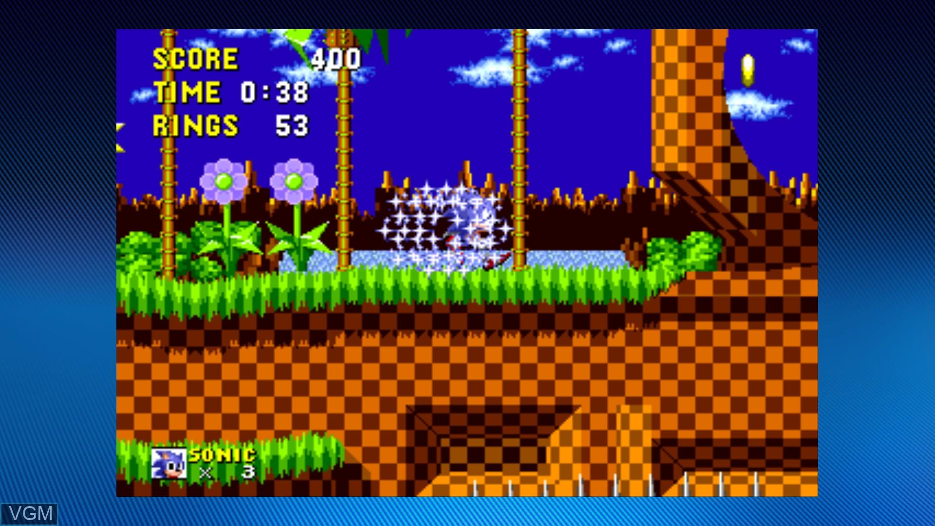 Sega Vintage Collection - Sonic the Hedgehog