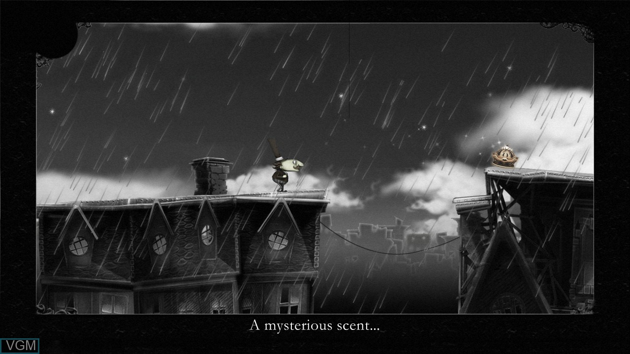 In-game screen of the game Misadventures of P.B. Winterbottom, The on Microsoft Xbox 360