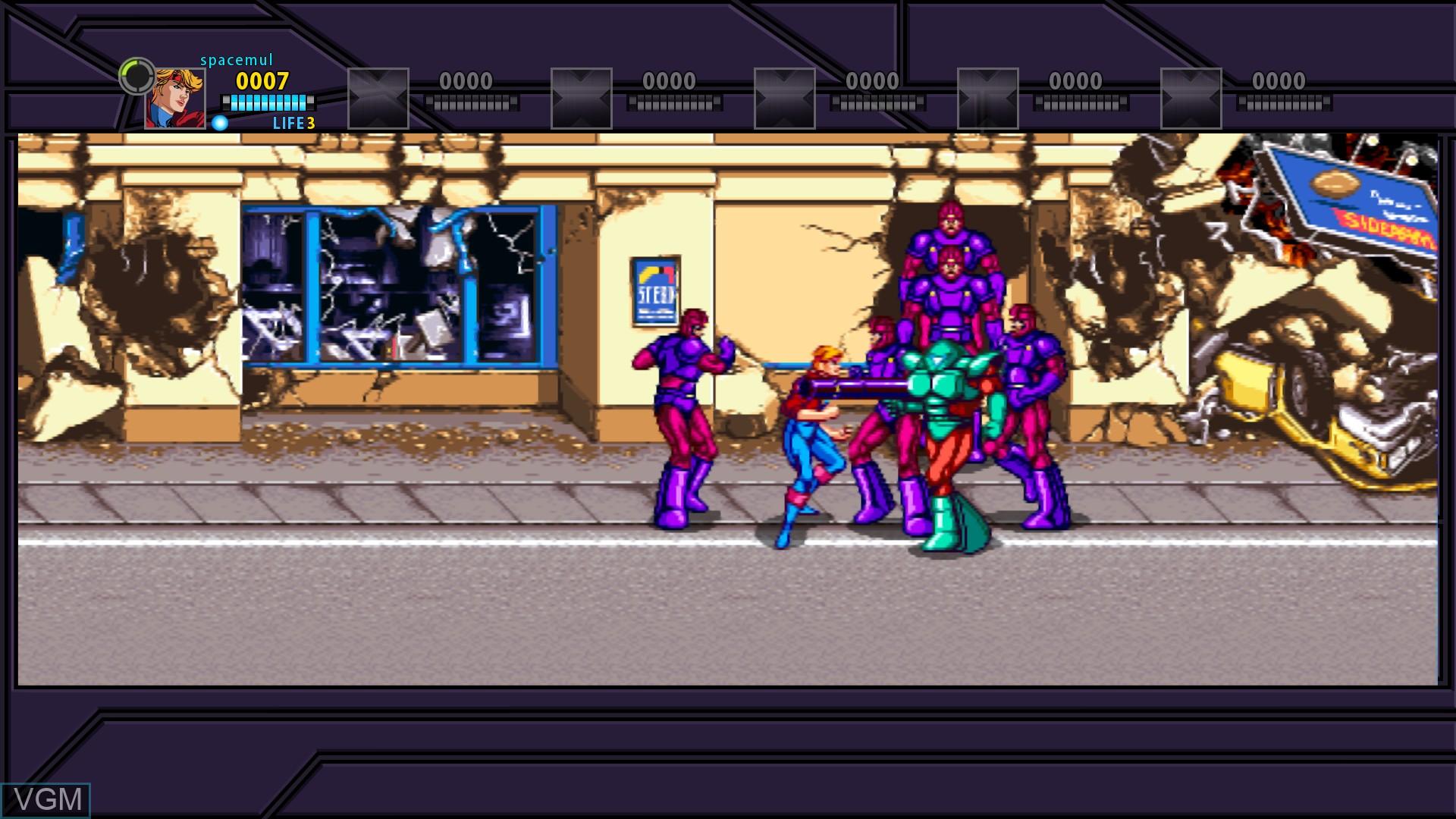 X-Men - The Arcade Game