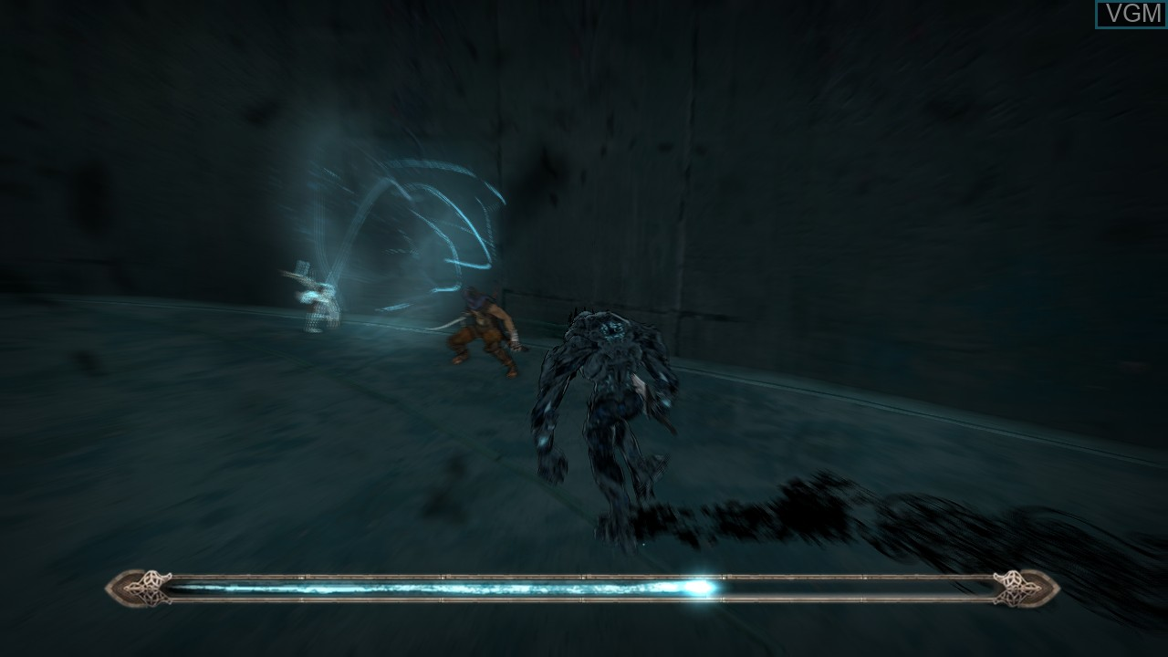 In-game screen of the game Prince of Persia on Microsoft Xbox 360