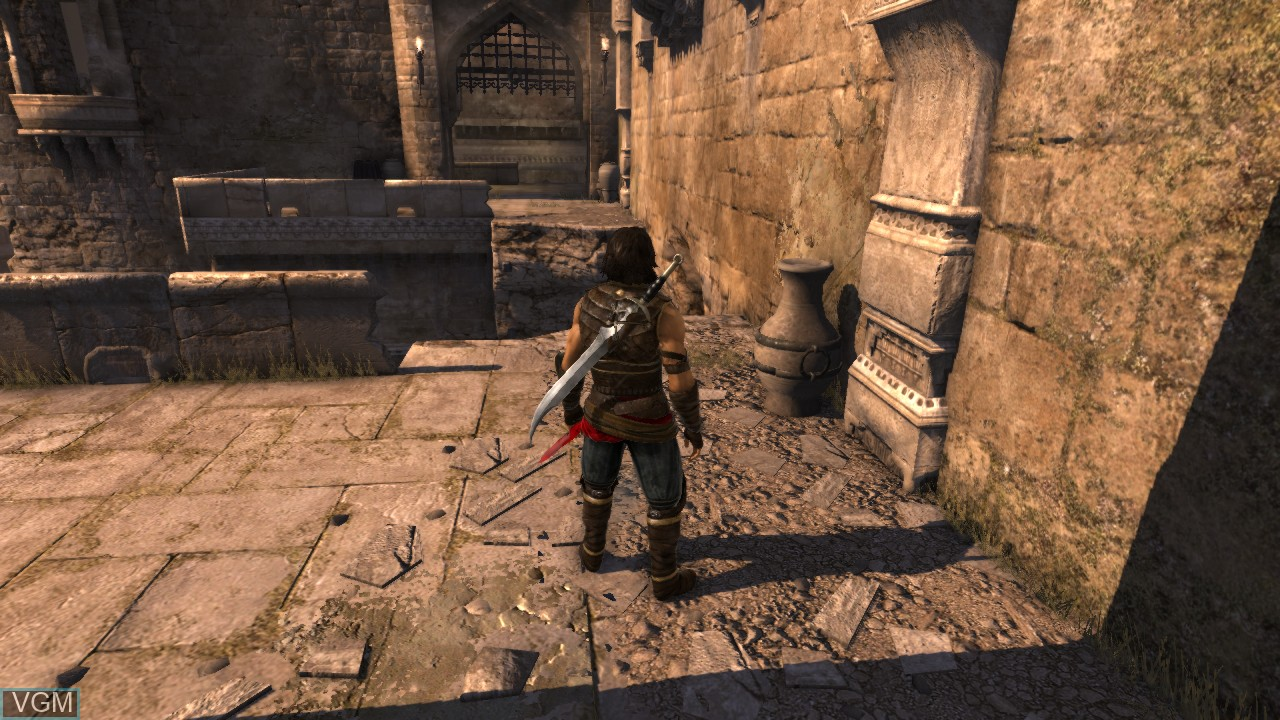 In-game screen of the game Prince of Persia - The Forgotten Sands on Microsoft Xbox 360