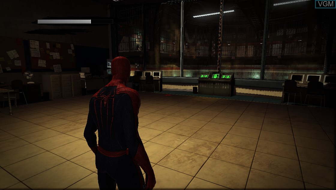 In-game screen of the game Amazing Spider-Man, The on Microsoft Xbox 360