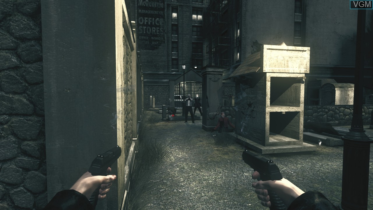 In-game screen of the game Darkness, The on Microsoft Xbox 360