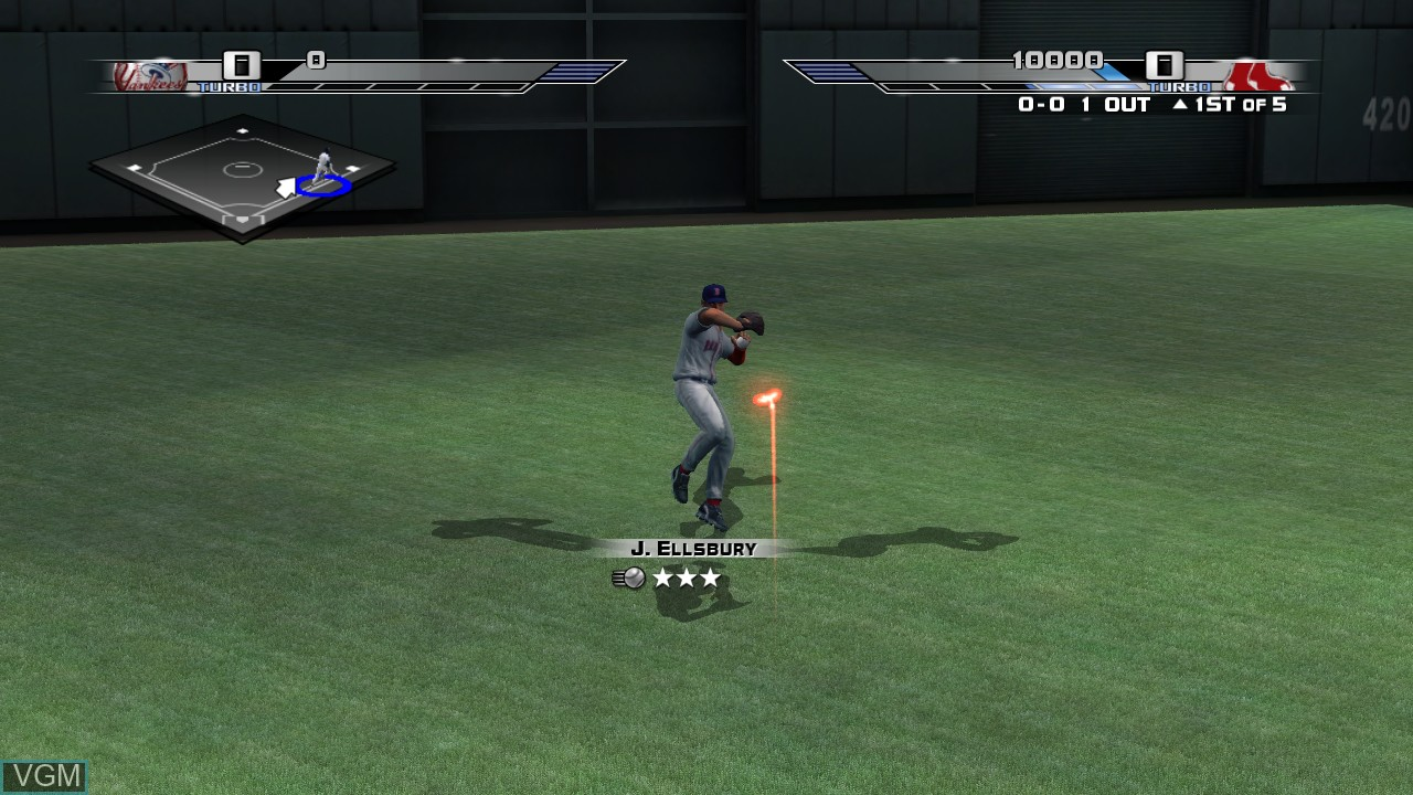 In-game screen of the game Bigs 2, The on Microsoft Xbox 360