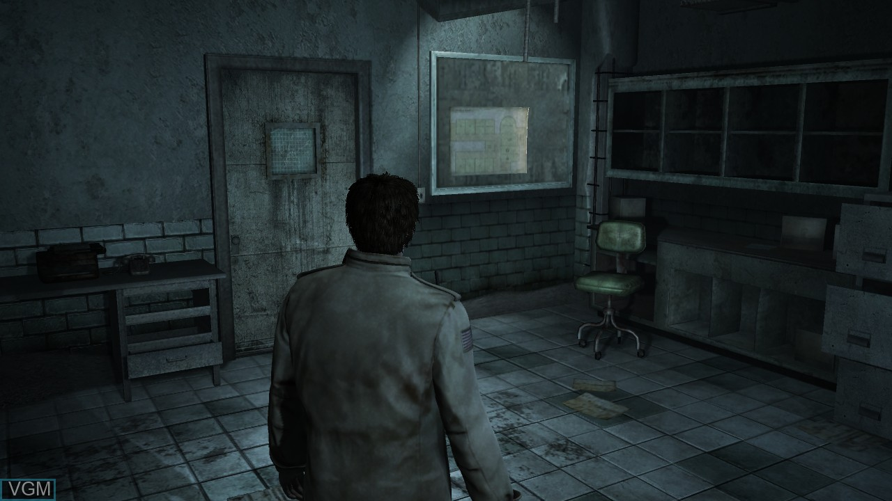 In-game screen of the game Silent Hill - Homecoming on Microsoft Xbox 360