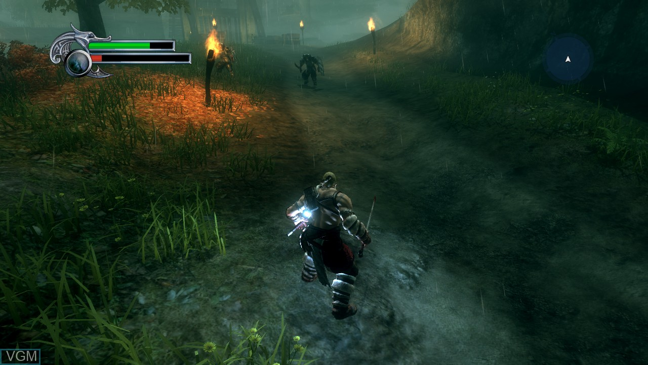 In-game screen of the game Viking - Battle for Asgard on Microsoft Xbox 360