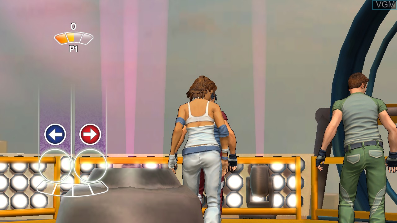 In-game screen of the game Dance! It's Your Stage on Microsoft Xbox 360