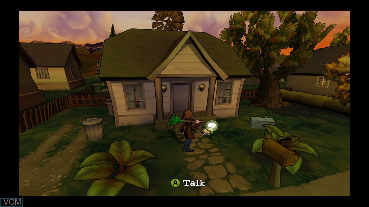 In-game screen of the game Penny Arcade Adventures - On the Rain-Slick Precipice of Darkness Episode One on Microsoft Xbox 360