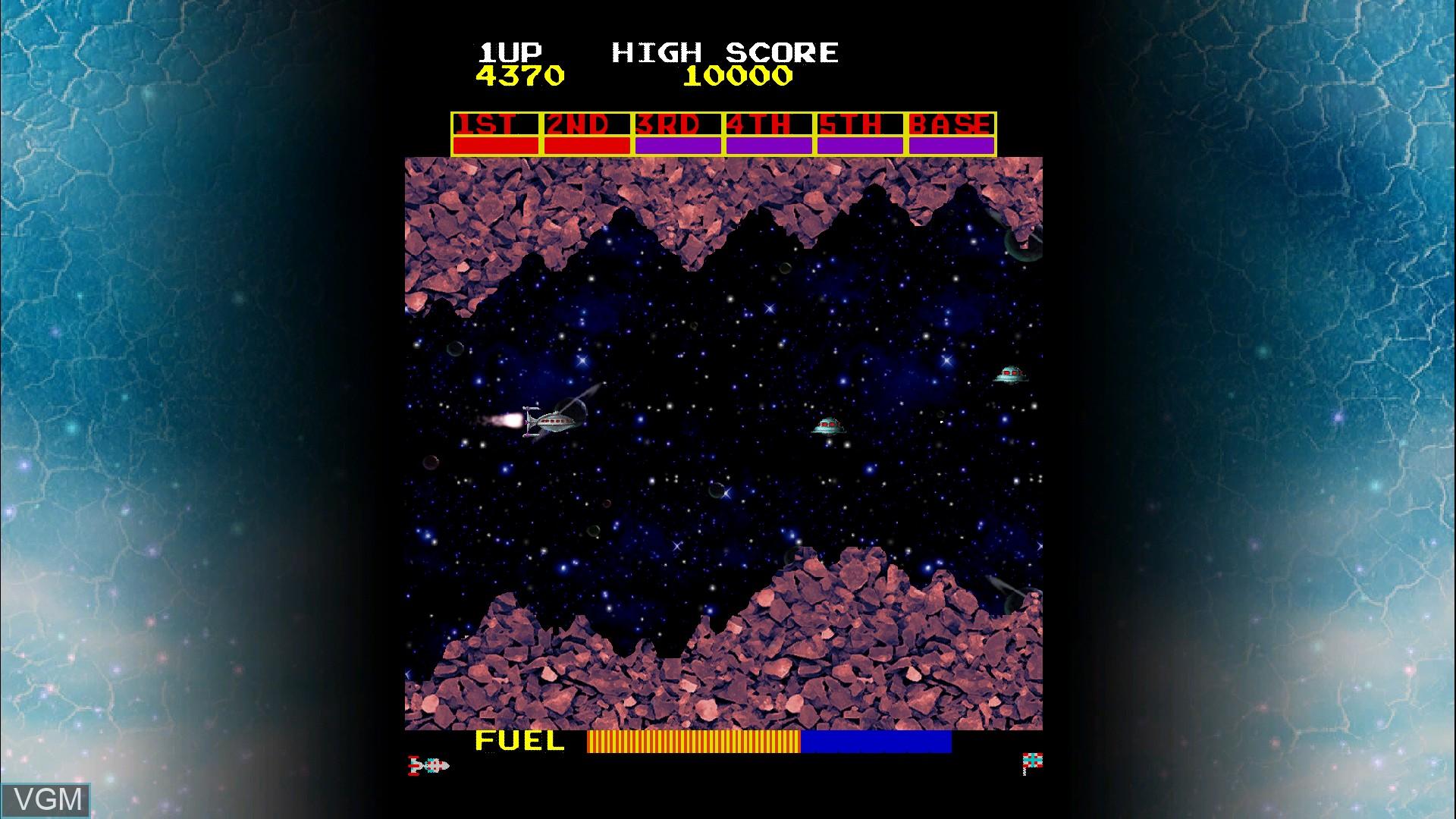 In-game screen of the game Scramble on Microsoft Xbox 360