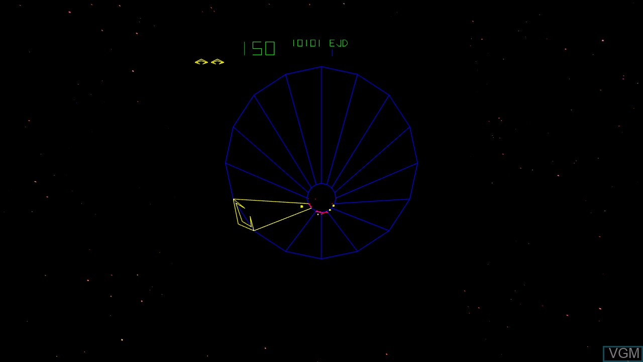In-game screen of the game Tempest on Microsoft Xbox 360