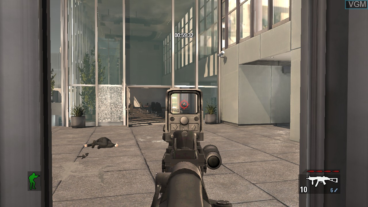 In-game screen of the game Takedown - Red Sabre on Microsoft Xbox 360