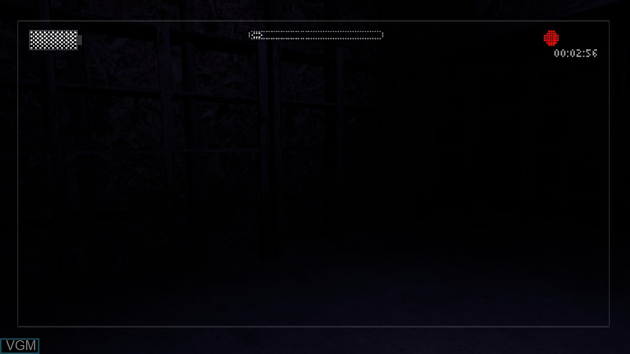 In-game screen of the game Slender - The Arrival on Microsoft Xbox 360