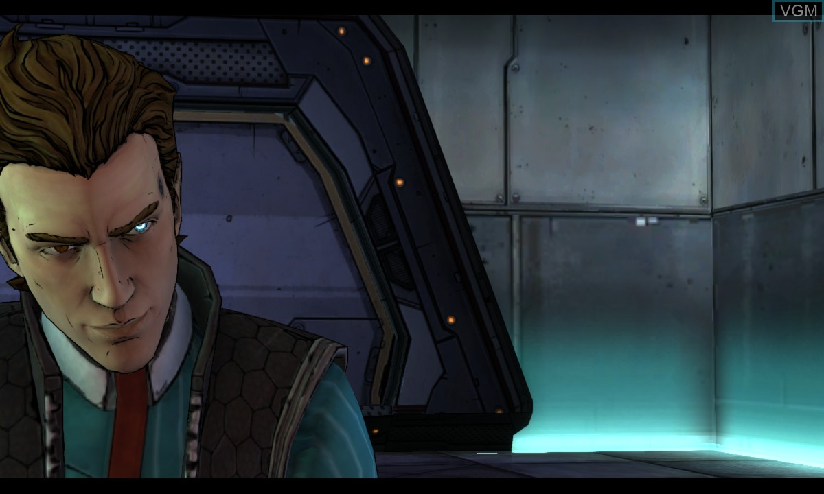 In-game screen of the game Tales from the Borderlands - Episode One - Zer0 Sum on Microsoft Xbox 360