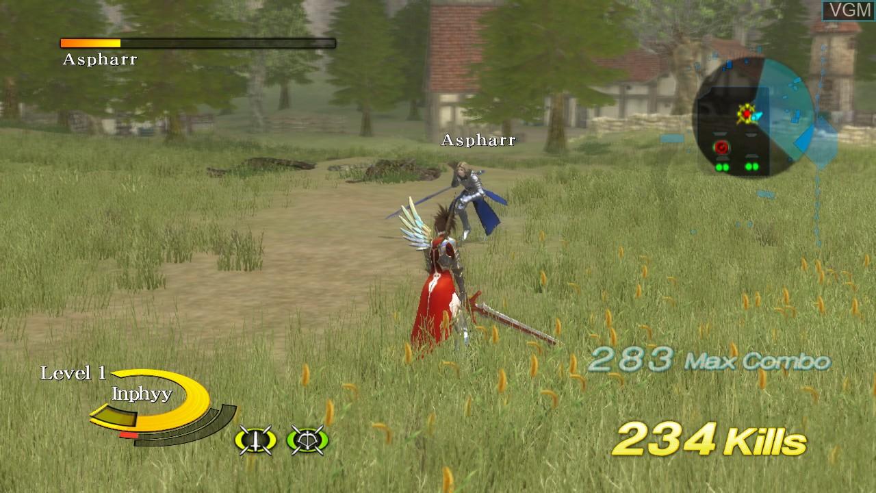 In-game screen of the game N3II - Ninety-Nine Nights on Microsoft Xbox 360