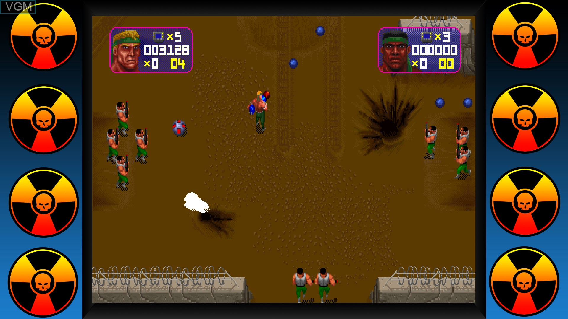 In-game screen of the game Midway Arcade Origins on Microsoft Xbox 360
