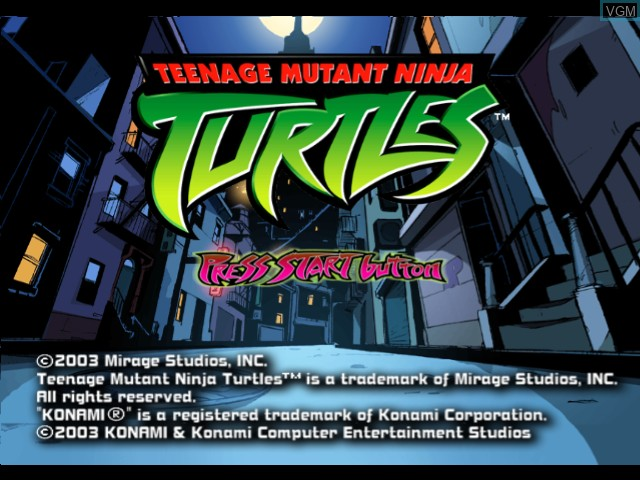 Teenage Mutant Ninja Turtles For Microsoft Xbox The Video Games Museum