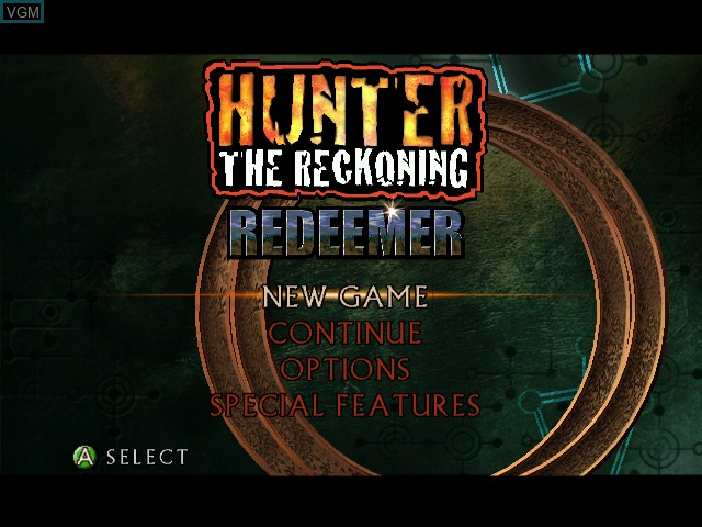 hunter reckoning redeemer xbox