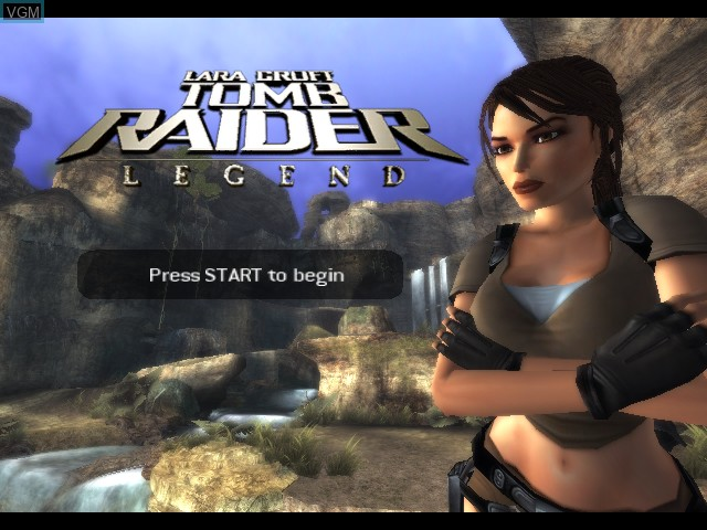 Tomb Raider Legend For Microsoft Xbox The Video Games Museum