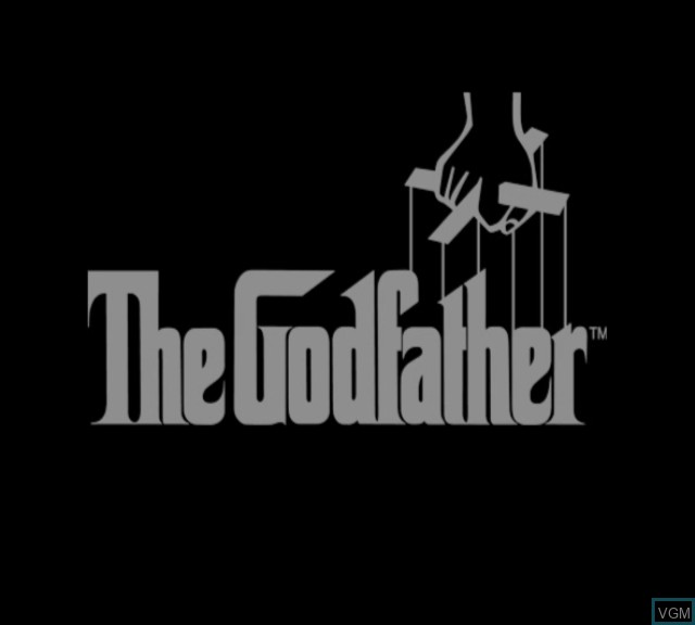 Title screen of the game Godfather, The on Microsoft Xbox
