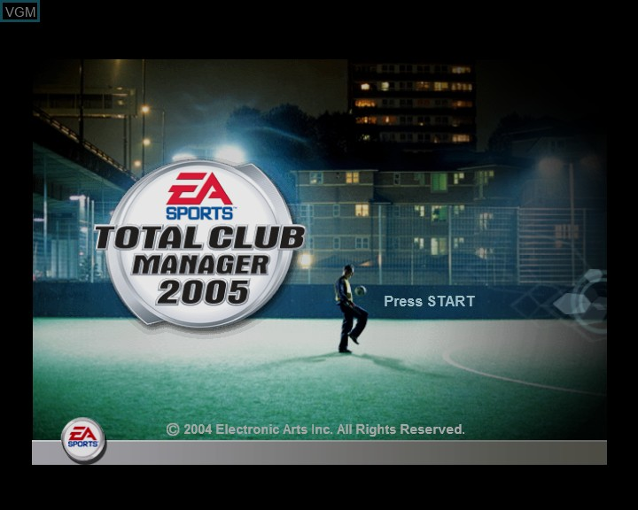 Total Club Manager 2005 For Microsoft Xbox The Video Games