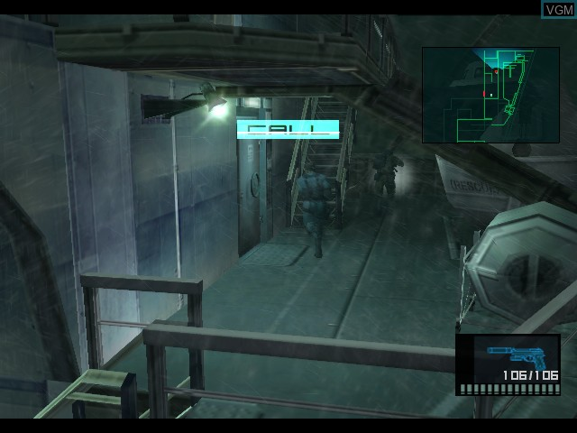 Metal Gear Solid 2 - Substance
