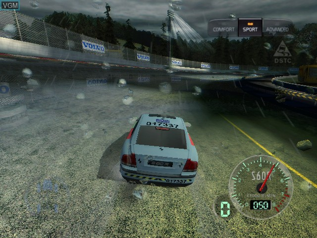 In-game screen of the game Volvo - Drive for Life on Microsoft Xbox