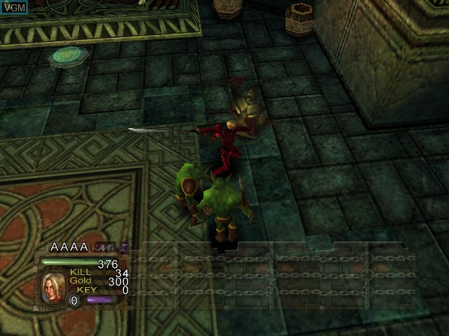 In-game screen of the game Black Stone - Magic & Steel on Microsoft Xbox