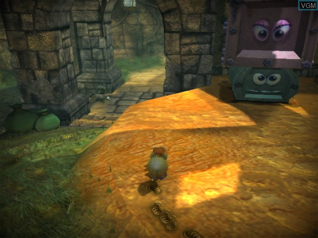 In-game screen of the game Conker - Live & Reloaded on Microsoft Xbox